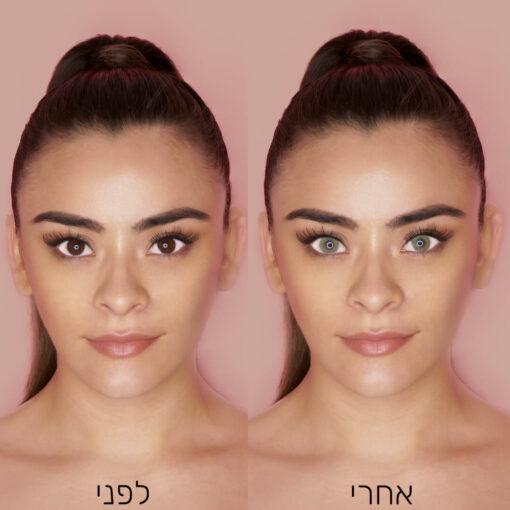 Queen-Amber-לפני-ואחרי